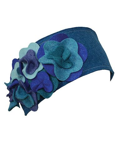 Take a look at this Blue Floral Headband by Jeanne Simmons Accessories on #zulily today! $10 !!