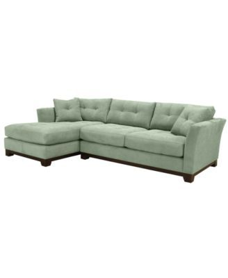 Terrific Michelle 2 Pc Reversible Chaise Sectional Sofa Created For Creativecarmelina Interior Chair Design Creativecarmelinacom