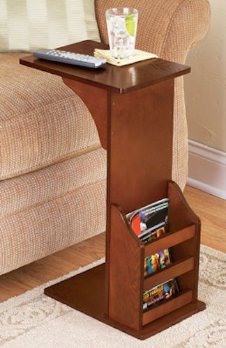 Chair Side Book Stand Ergonomic Under 100 End Table Floor Wooden Magazine Night Rack Holder Sofa Bed Sidetable