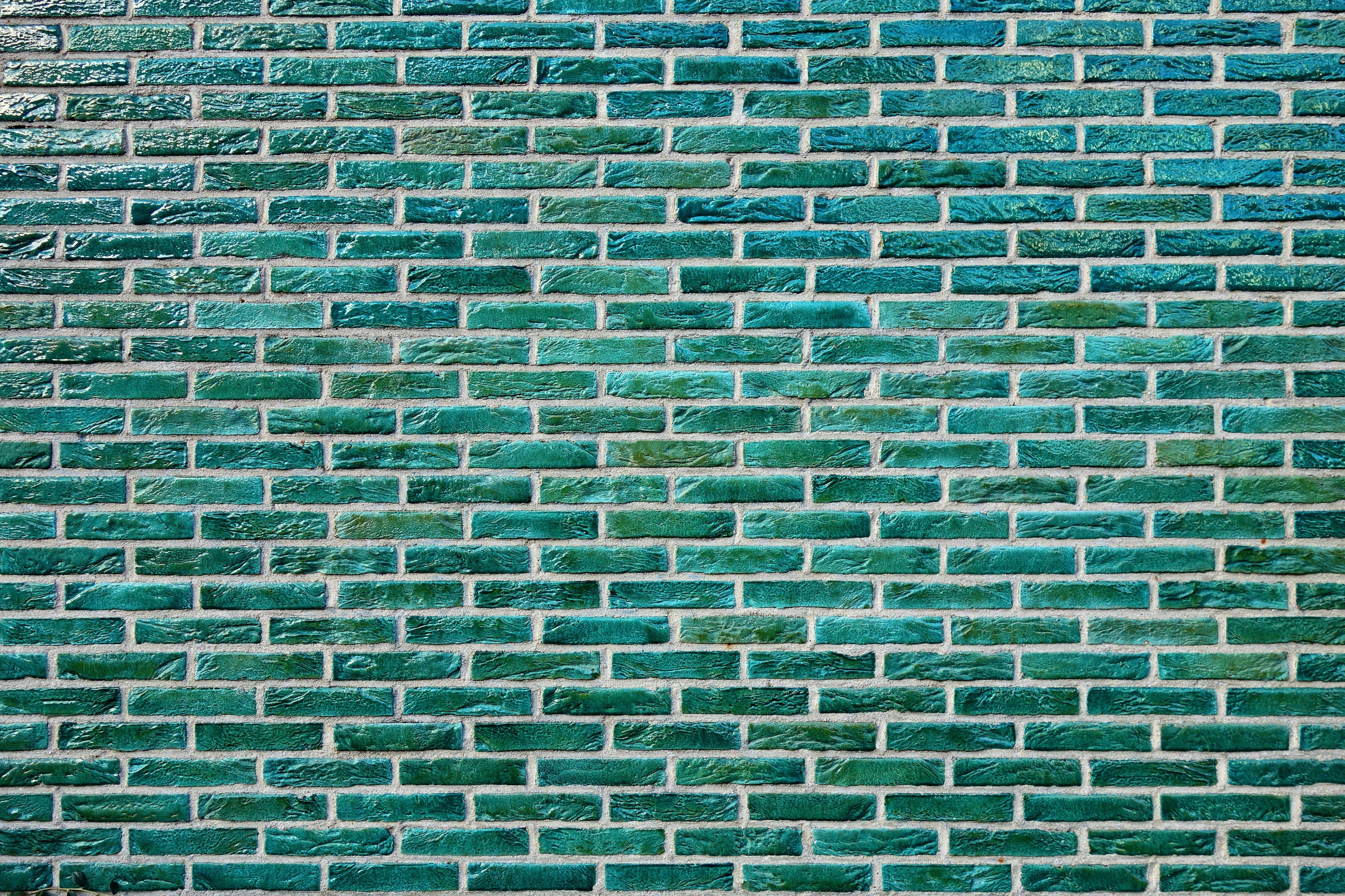 Green Brick Wall Wallpaper Wall Brick Texture Surface Paint 5k Wallpaper Hdwallpaper Desktop Brick Wall Wallpaper Green Bricks Brick Wallpaper Green Hd wallpaper texture surface wall brick