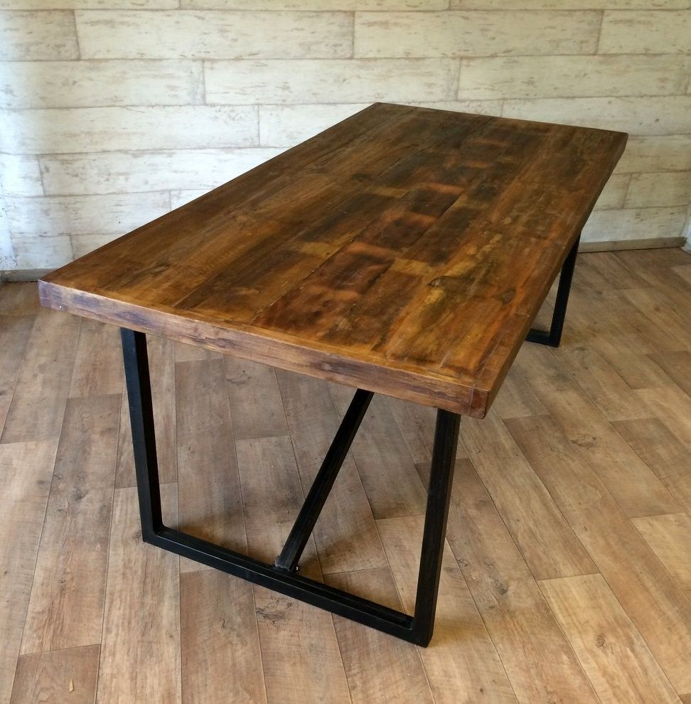 Are you interested in our Reclaimed recycled wooden dining table? With our  wooden upcycled dining table you need look no further.