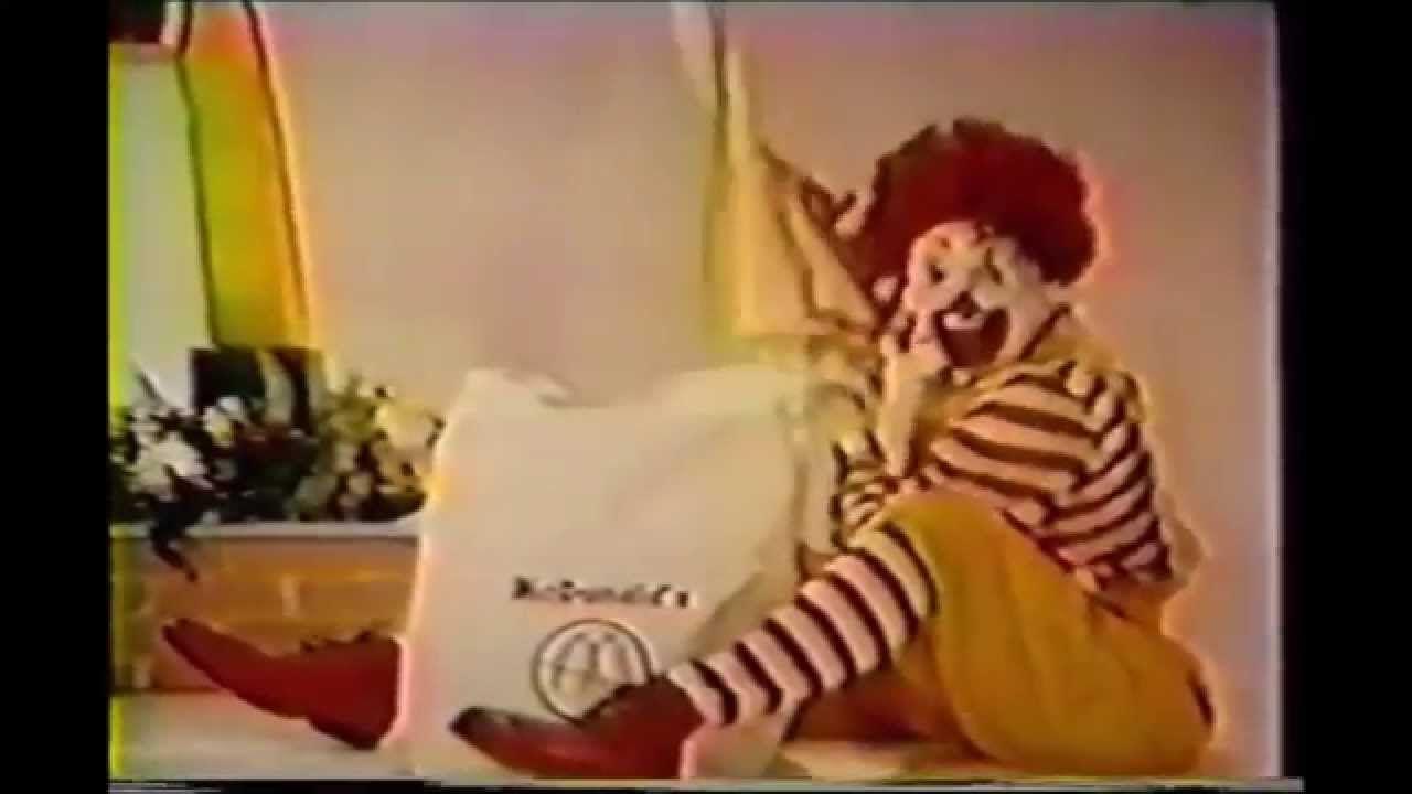 Evolution Of Ronald McDonald