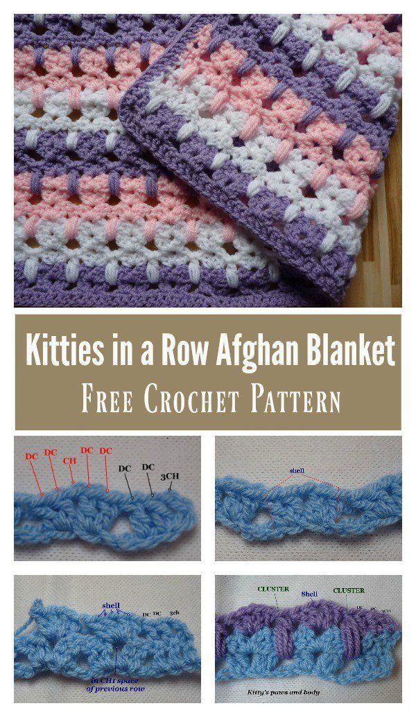 Asombroso Crochet Patrón De La Cara Scrubbie Viñeta - Manta de Tejer ...