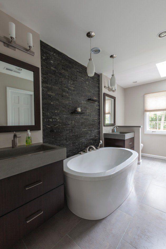 15 Striking Industrial Bathroom Designs With Modern