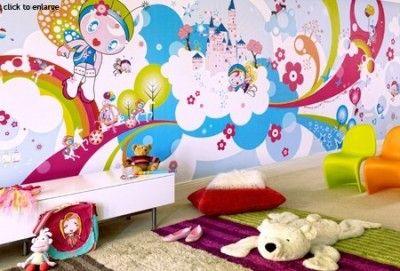 Funky kids room.