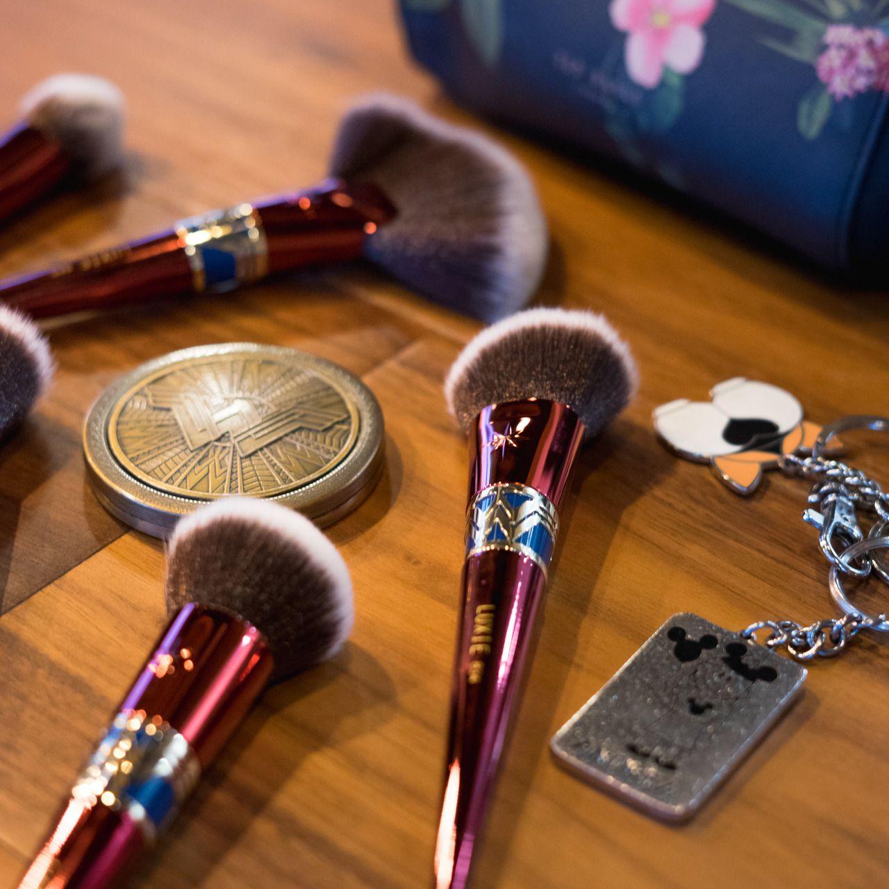 Luxie's Wonder Woman makeup brush collection Wonder