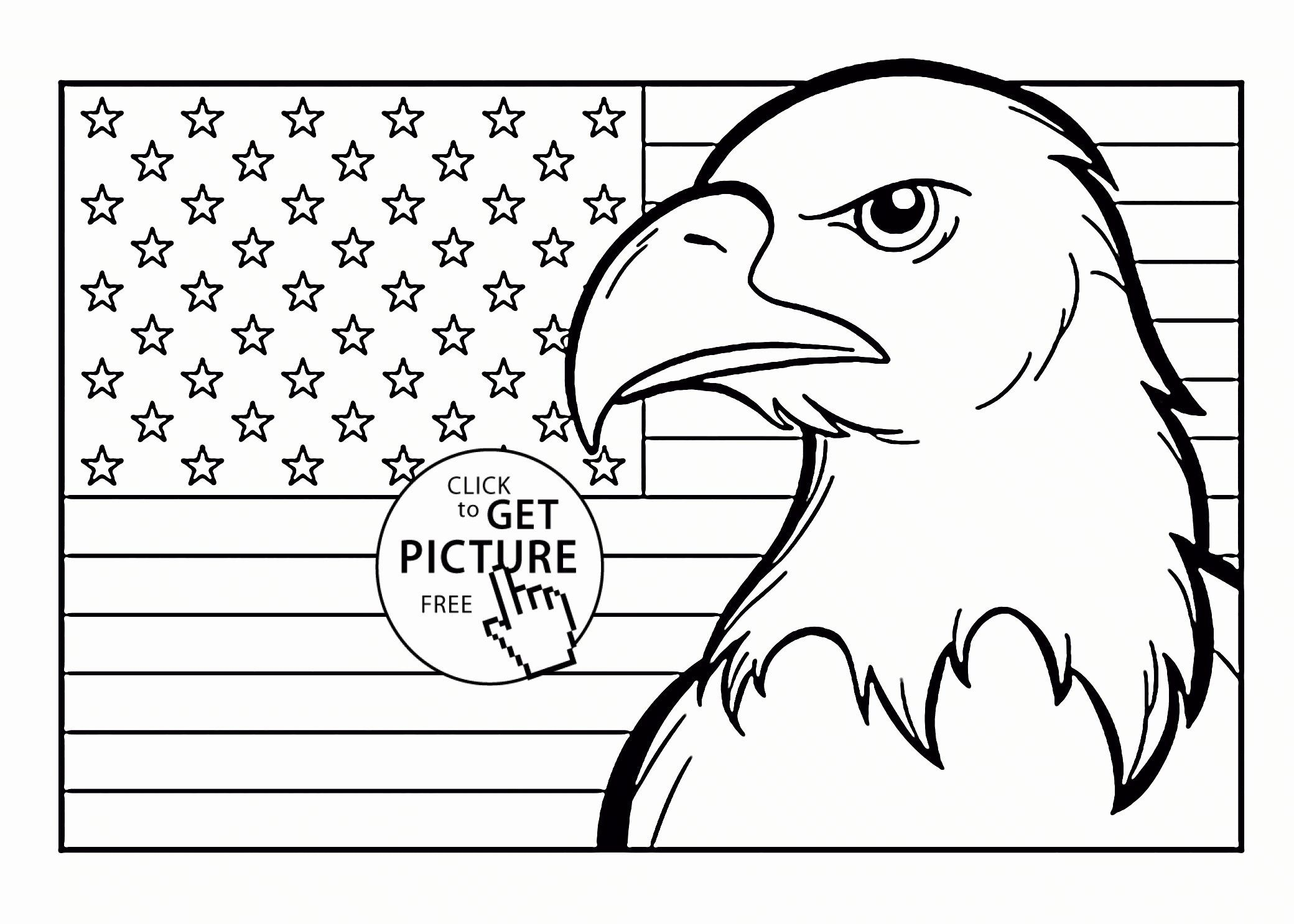 4th Of July Coloring Pages Flag Coloring Pages American Flag