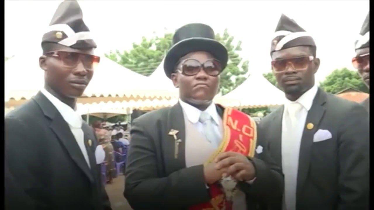 Ghana Dancing Pallbearers Video Mp4 Download Dancing Coffin Funeral Meme Dance Music Dance Memes