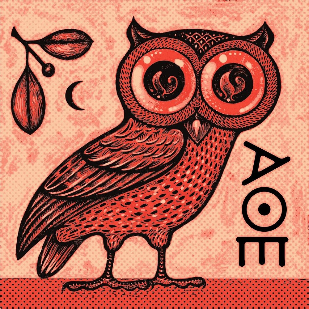 Athenas owl by scott partridge tattoos pinterest partridge in greek mythology a little owl athene noctua traditionally represents or accompanies athena the virgin goddess of wisdom or minerva her syncretic biocorpaavc