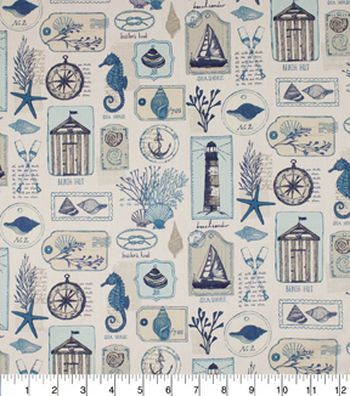Home Essentials 45 Print Fabric FC Coastal Pacific Projects to