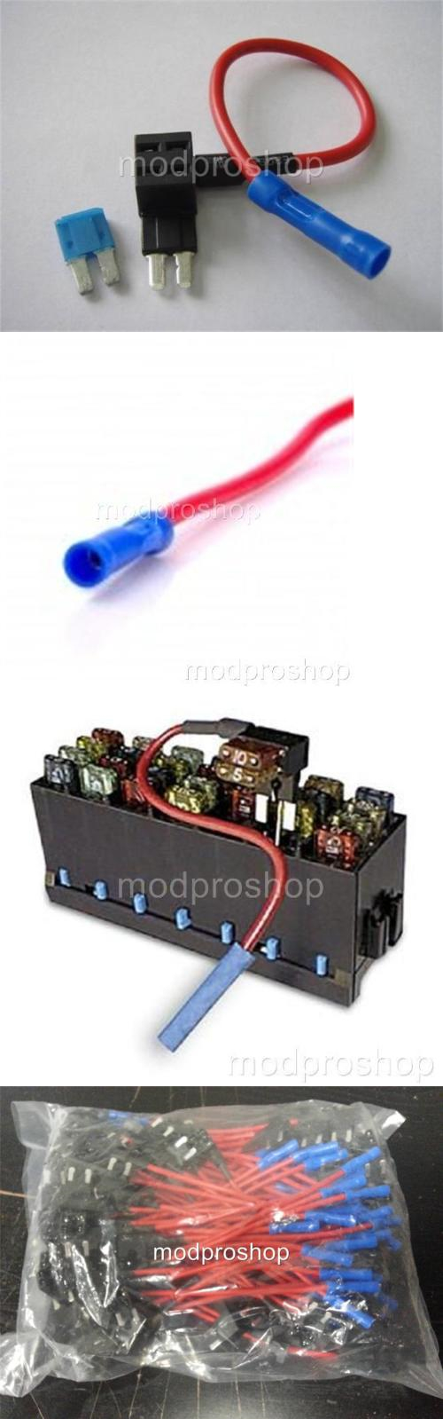Fuses And Fuse Holders Micro2 Add A Circuit Atr Tap 50 Atm Addafuse Addacircuit 4 For Mini Blade Style Pack