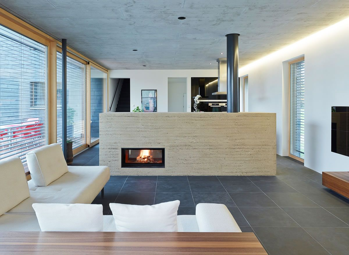 lehmo › design-Öfen aus südtirol ~ pöhl Öfen | thermal mass heat, Wohnzimmer dekoo