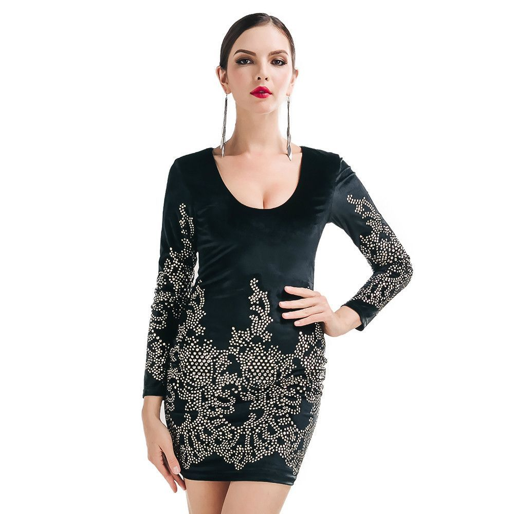 Party dress fashion pinterest sleeved dress and retro