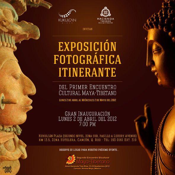 Exposición Fotográfica Itinerante #MayaTibetano