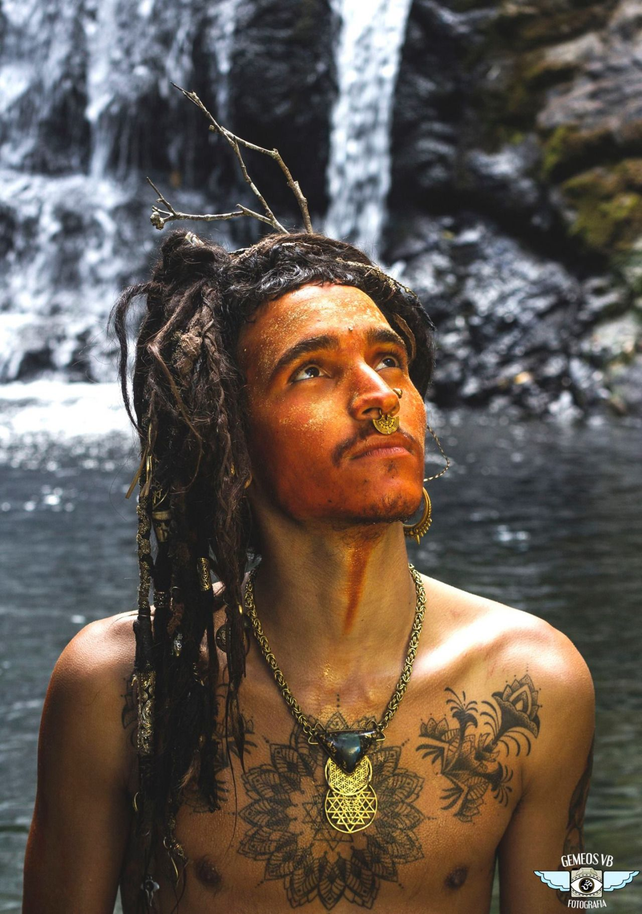 tantric hippie guys hair