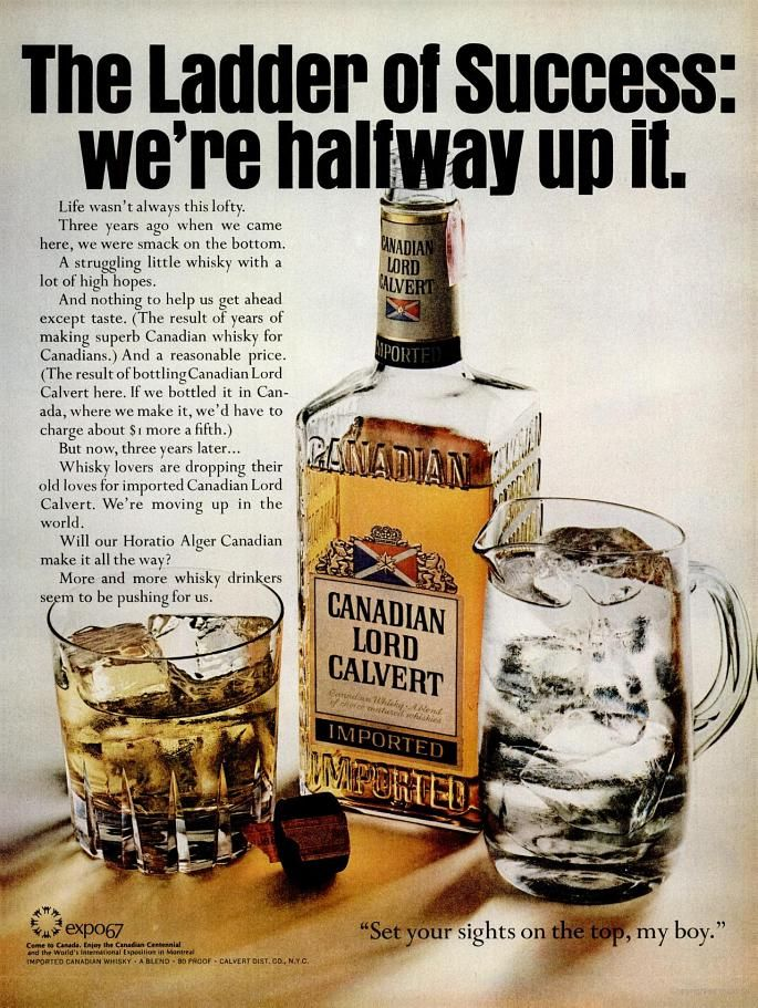 Canadian Lord Calvert Whiskey (1967) | Luxco | Whiskey
