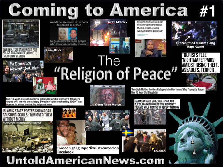 1 The Religion Of Peace Coming To America Examples Of Refugees