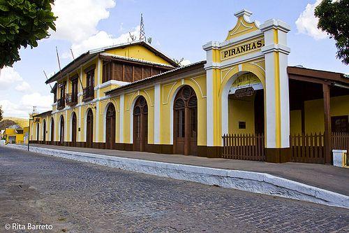 Piranhas, Alagoas, Brasil - antiga ferroviária, hoje Museu do Sertão