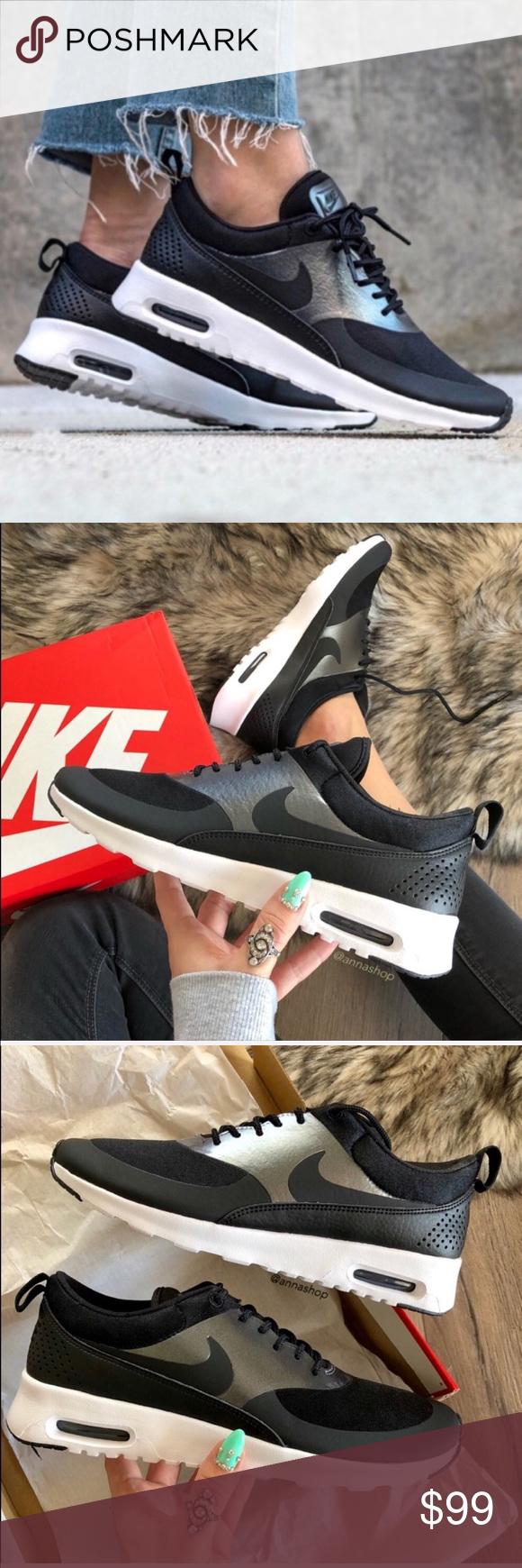 Rare Air Max Thea Shoe Nike White Black Women's