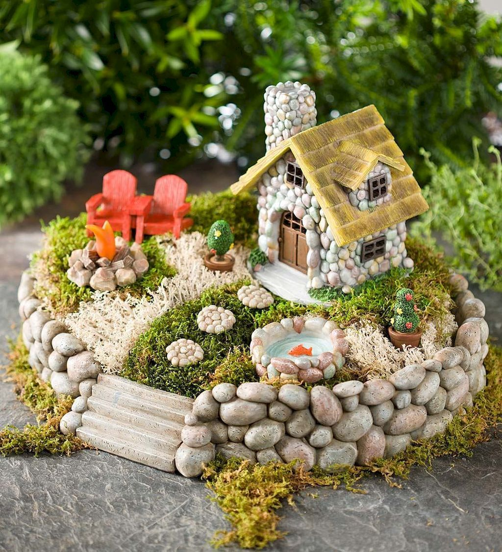 50 Beautiful DIY Fairy Garden Design Ideas | Diy fairy garden, Fairy ...
