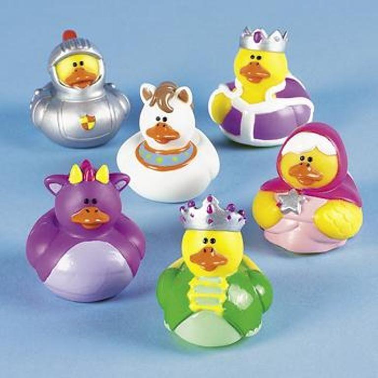 Rubber Duck Happy Birthday King Bath Duck