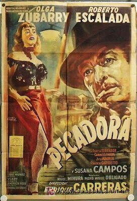 Pecadora Argentina 1956 Director Enrique Carreras Guion