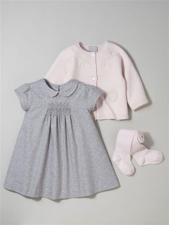 01f7ffe062a3 ROBE BÉBÉ SMOCKS, Le bébé - Vetement et déco Cyrillus   Kids Fashion ...