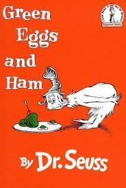 classic Dr Seuss orange book cover