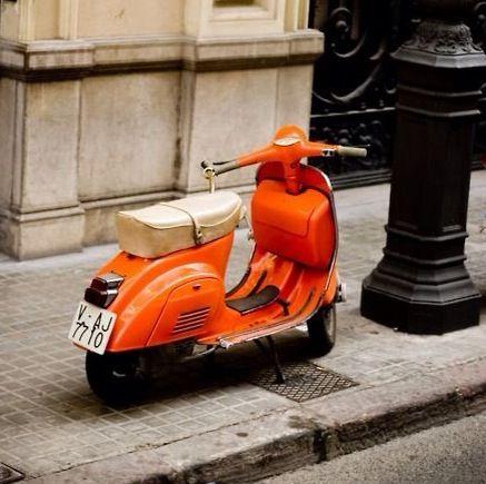 Orange Colour Splash Colour Splash Pinterest Vespa Vespa