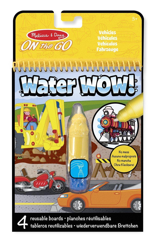 Melissa & Doug - 15375 - Malblock - Enthüllung mit Wasser - Fahrzeuge: Amazon.de: Spielzeug