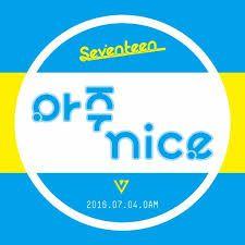 〈Come Back - Seventeen :세븐틴의 '아주 NICE' DAY〉 Êtes-vous prêts à découvrir le countdown live du nouveau come-back de Seventeen sur V App avant la sortie du MV (아주 NICE) VERY NICE prévu le 04.07.2016 ? Soyez présent le 03.07.2016 sur V App à 15H (heure coréenne). Cliquez sur le lien ci-dessous pour y avoir accès: http://www.vlive.tv/video/10700 #Yuyu ┄┄┄┄┄┄┄┄  www.twitter.com/HanllyU Sources & Crédits : http://www.vlive.tv / images.google.fr