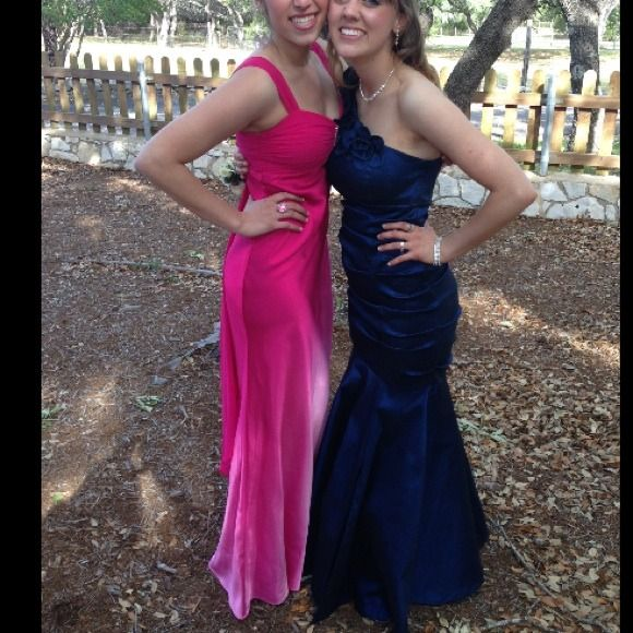 Betsy Adam Ombr Pink Promformal Dress Formal Prom And Shapes