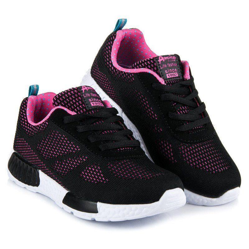Buty Sportowe Dzieciece Dla Dzieci Americanclub American Club Czarne Sportowe Obuwie Dzieciece Sketchers Sneakers Shoes Underarmor Sneaker