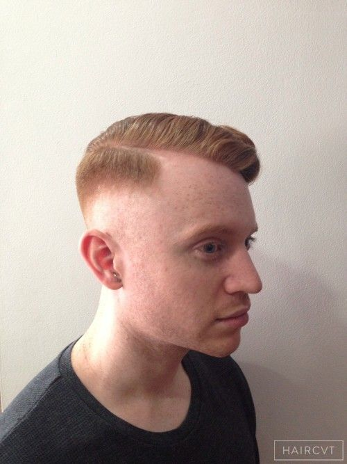 Men Parting Skin Fade Hairstyle Men S Hairstyles In London