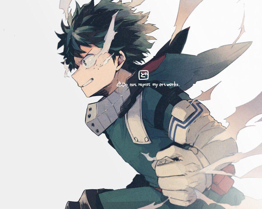One For All 100 Full Cowl My Hero My Hero Academia Manga My