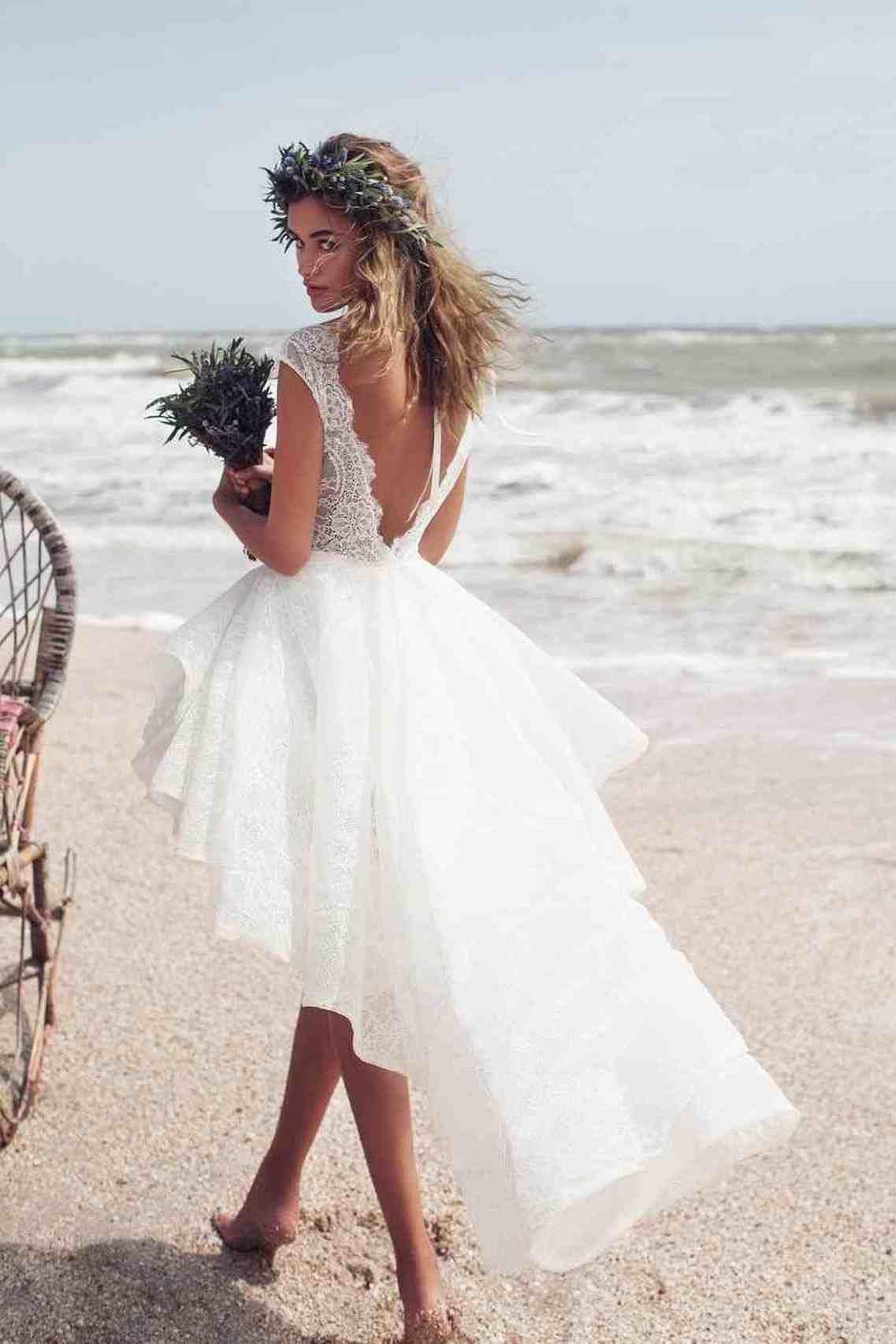 beach wedding dress short off 18   medpharmres.com
