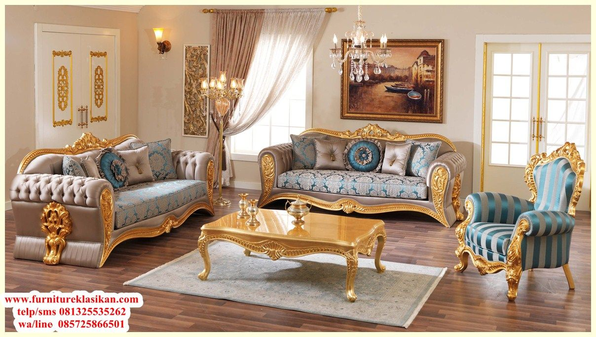 Set Sofa Ruang Tamu Minimalis Modern Sofa Kulit Terbaru Jepara  # Muebles Victorianos Baratos