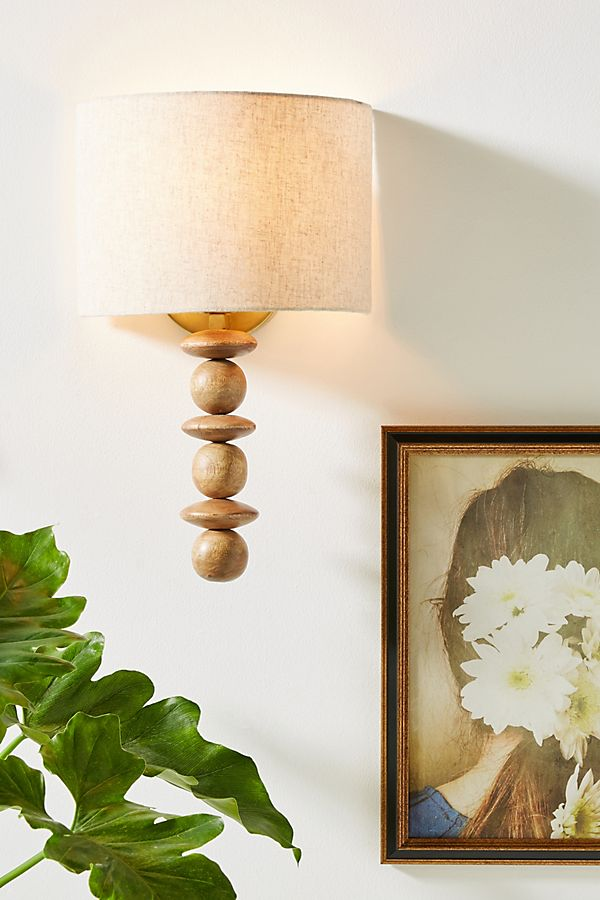 Hudson Wood Sconce In 2020 With Images Wood Sconce Sconces Hudson Woods