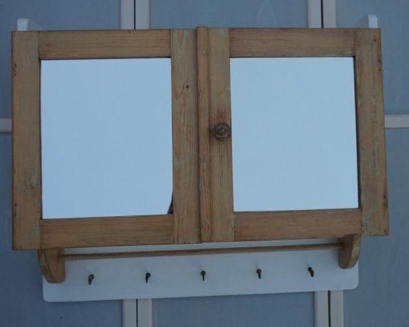 lybste alter vintage spiegelschrank f rs antik bad oder landhaus badm bel lybste. Black Bedroom Furniture Sets. Home Design Ideas