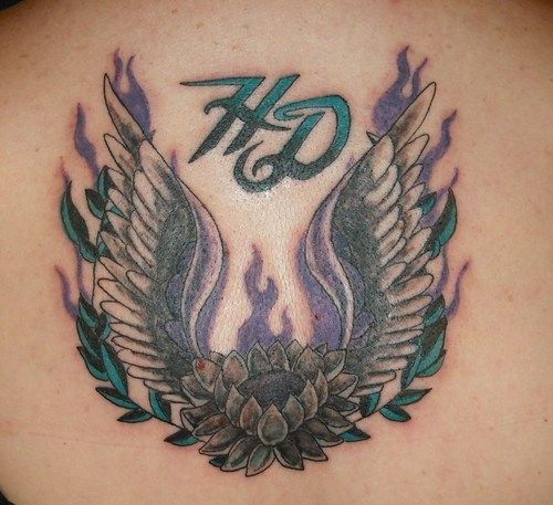 harley davidson lower back tattoos - Recherche Google