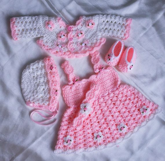 Baby Crochet Patterns, Baby Dress Pattern, Crochet shoes, Crochet ...