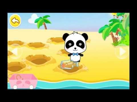 Dessin Animé Complet En Francais, Petit Panda  en île au trésor