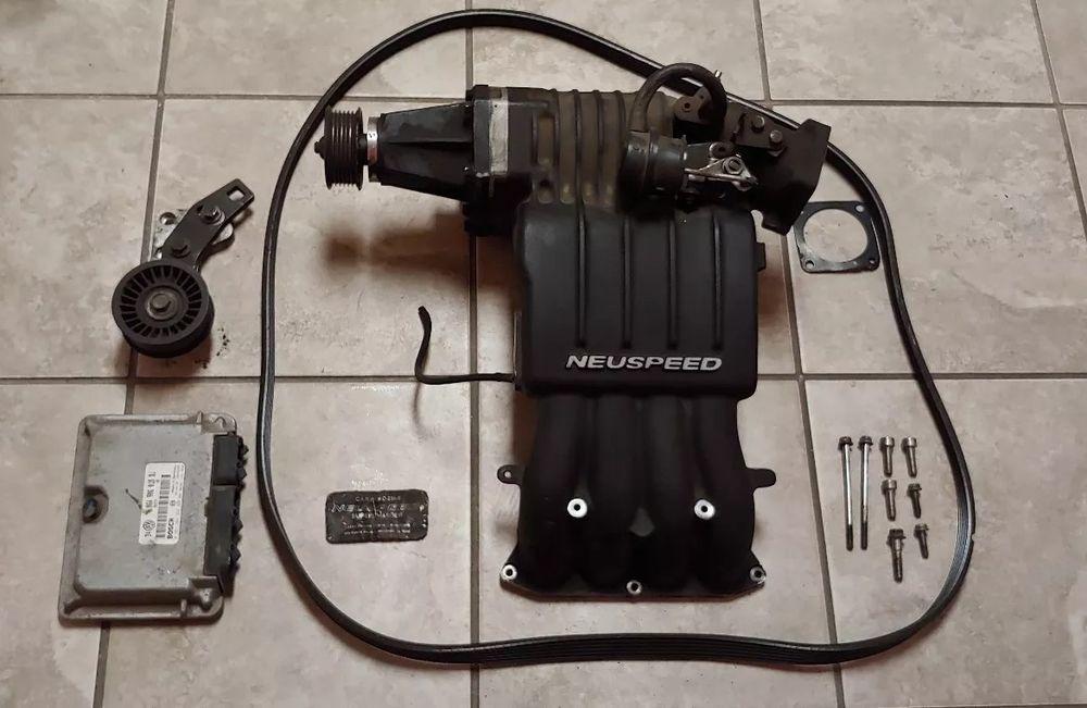 VW Volkswagen Neuspeed Supercharger Racing RARE Charger 2 0