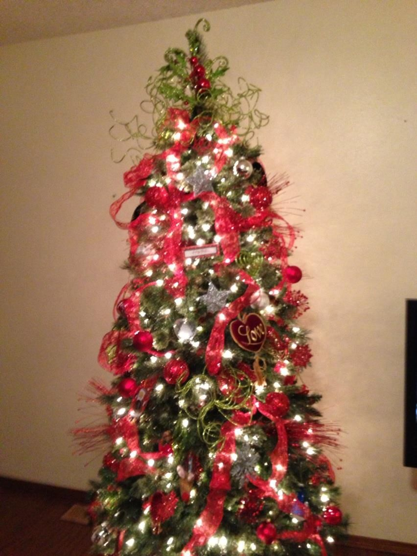 The most creative I've ever been with a Christmas tree in 2012. Can't wait to add to it!