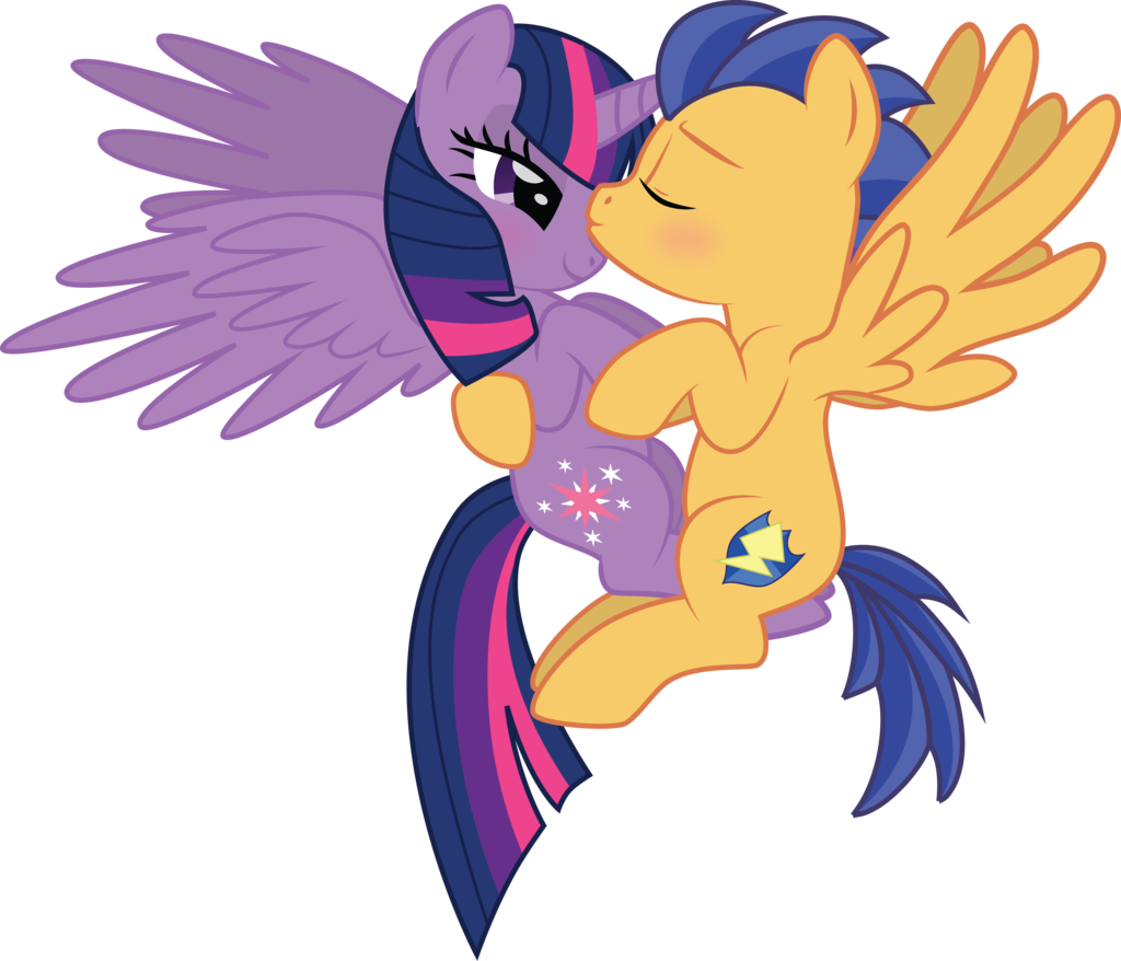 Flash Sentry And Twilight Sparkle By Benybing Deviantart Com On