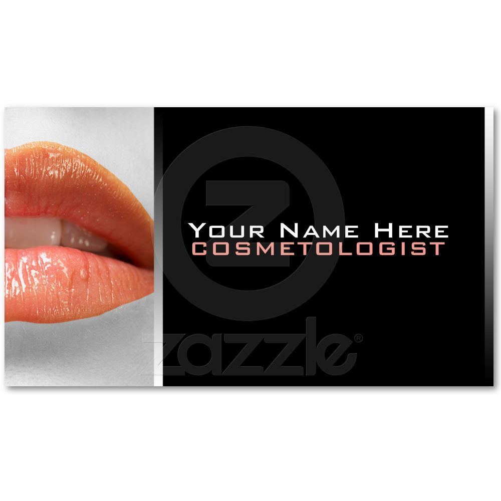 Cosmetologist Business Cards   Business and Business cards