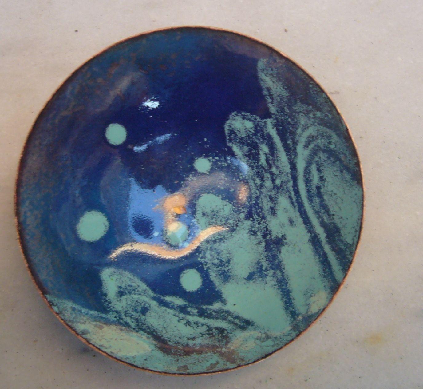 platoAZZUL 1, azules transparentes directos, opacos con pincel