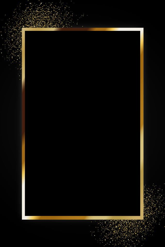 Black Gold High End Atmospheric Business Advertising Background