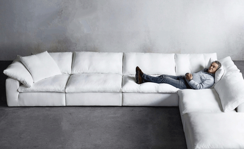 The Dreamy Cloud Sofa Inspired By British Designer