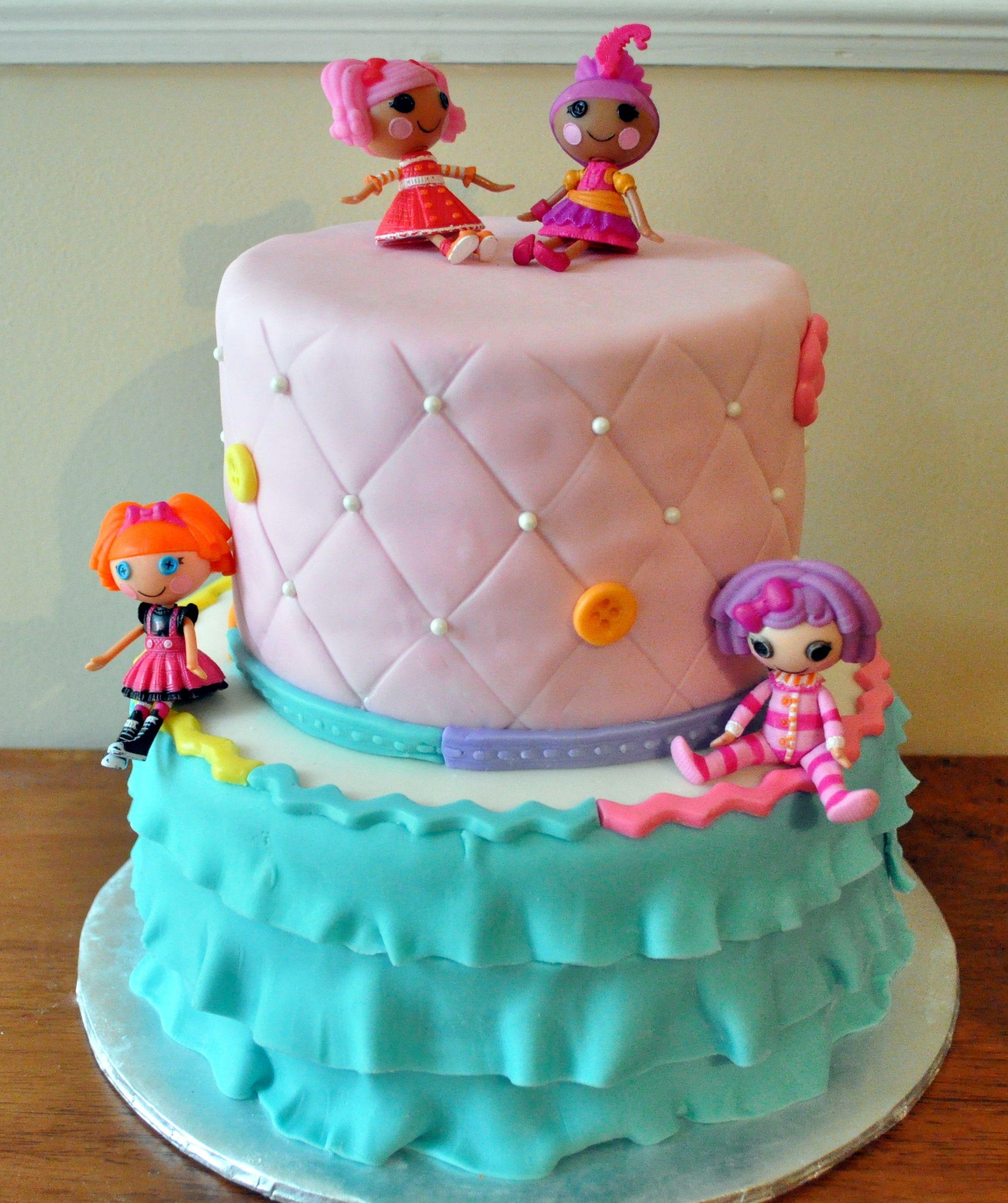 Lalaloopsy cake | Cakes | Pinterest | Lalaloopsy, Cake and Girl cakes